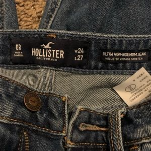 Hollister mom jeans
